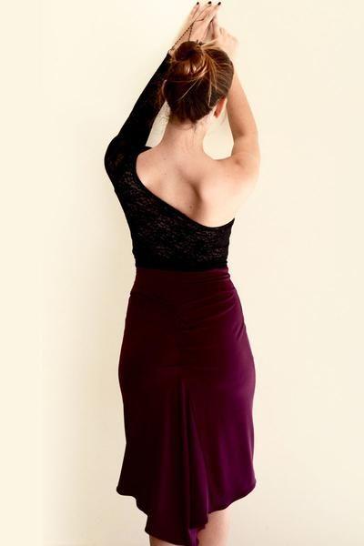 Fishtail Tango Skirt by conDiva