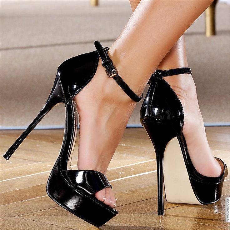Escarpins femme Noir elasthomère talons de 14 cm taille 37, en vente sur la boutique en ligne Modatoi. Achetez en ligne des chaussures femme sur modatoi.com.
