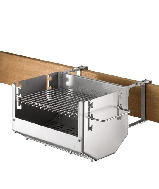Cool space-saving bbq grill                                                                                                                                                                                 More