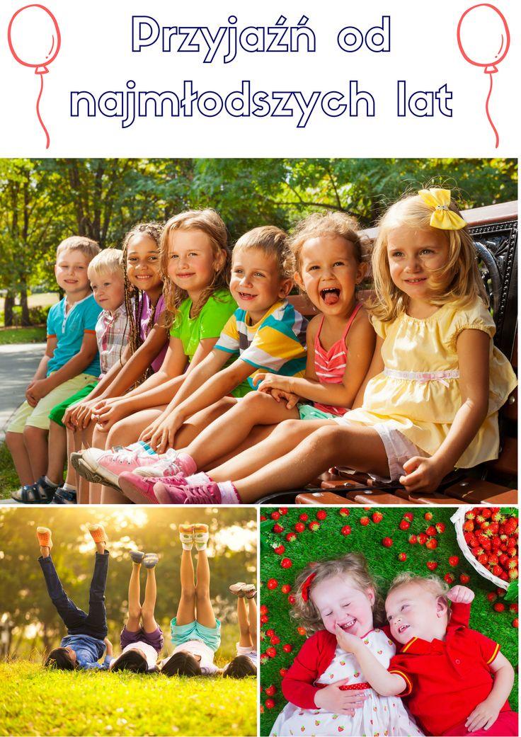 Przyjaźń jest ważna dla prawidłowego rozwoju dziecka.