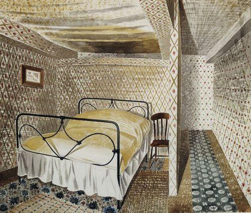 ERIC RAVILIOUS A Farmhouse Bedroom (1939)