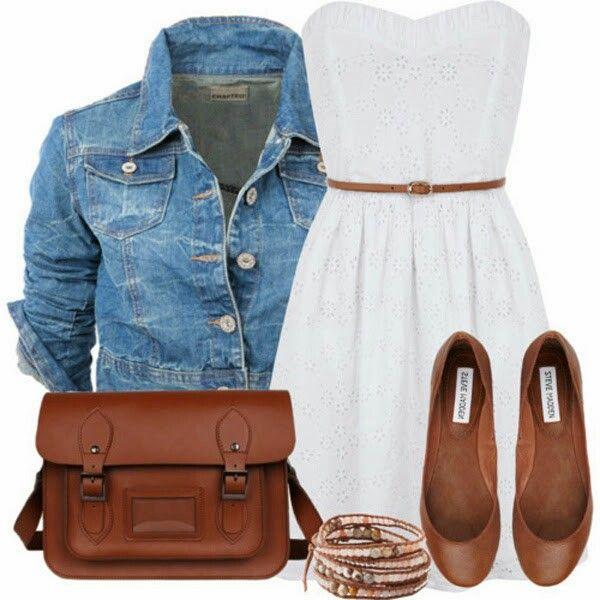 Un lindo vestido , es un outfit casual lindo y cómodo