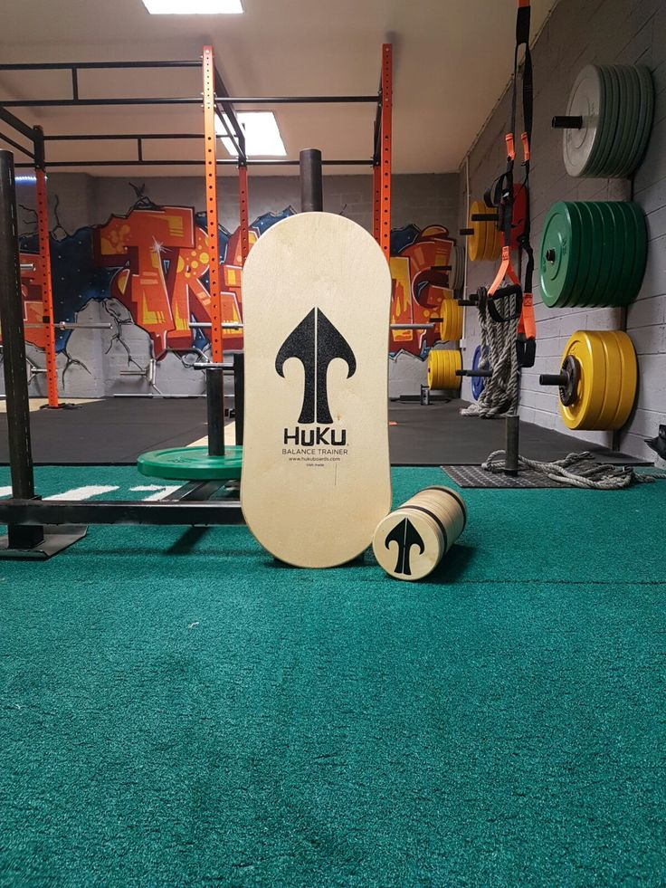 Using Huku balance boards as part of your gym workout!
