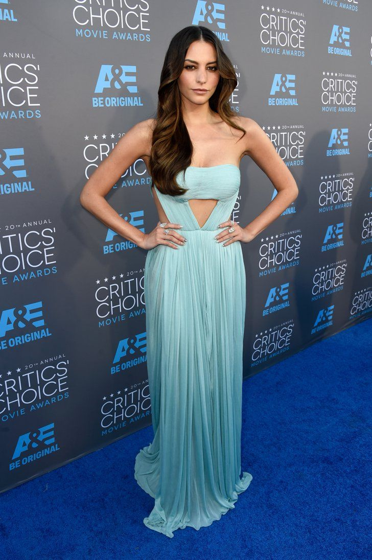 Pin for Later: The Big Screen's Hottest Stars Are at the Critics' Choice Movie Awards! Genesis Rodriguez