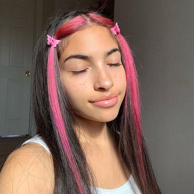 Saith My He A Rt Hair Color Streaks Aesthetic Hair Pink Hair Streaks