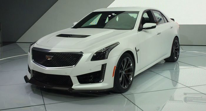 2017 Cadillac CTS-V is the featured model. The 2017 Cadillac CTS V Sedan image is added in car pictures category by the author on Jun 28, 2016.