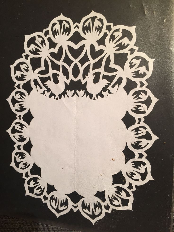 'Gækkebrev' filligran of paper for Valentine