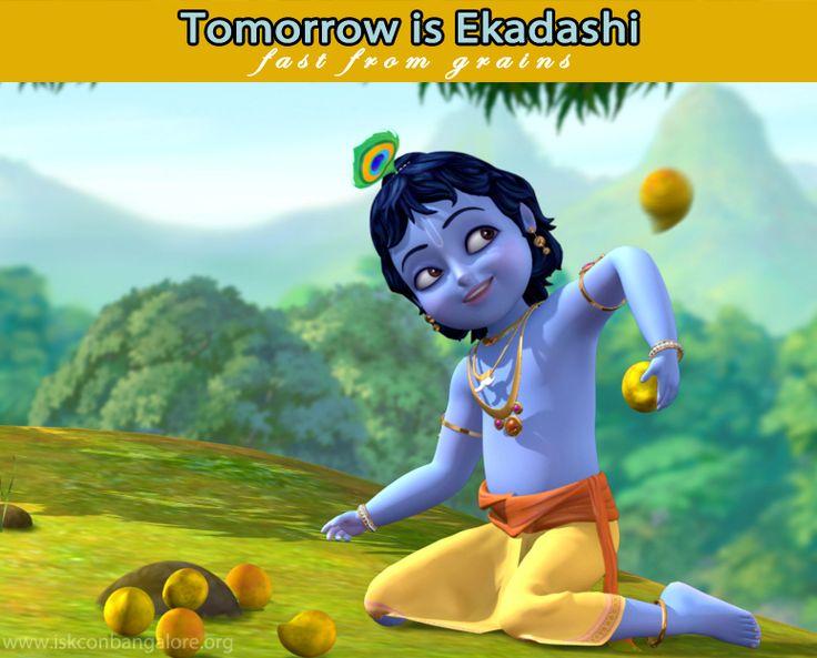 Tomorrow is Ekadashi For non-grains recipe. https://www.iskconbangalore.org/ekadashi-recipes