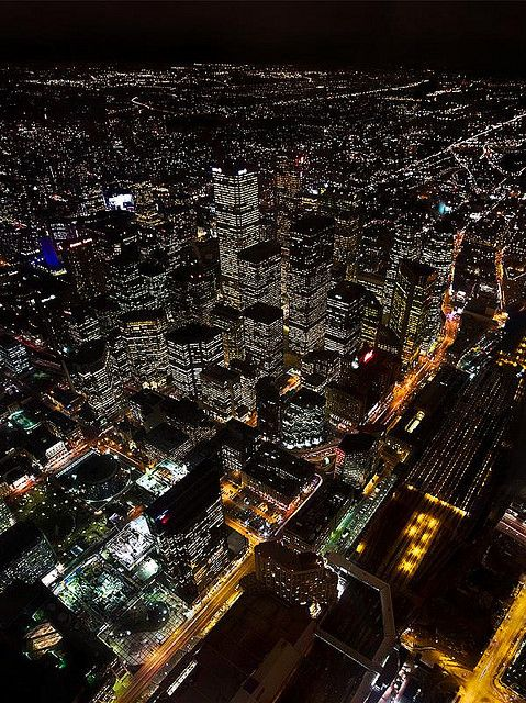 Downtown Toronto at night | Canada (by wivy)