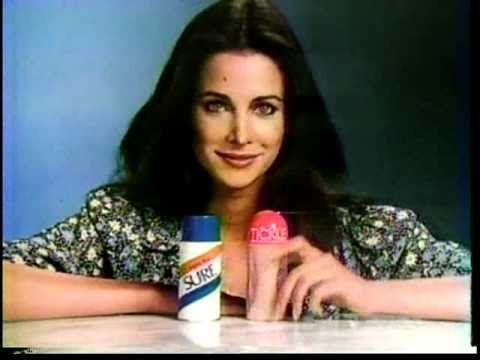 Connie Selleca for TIckle 1978 TV commercial