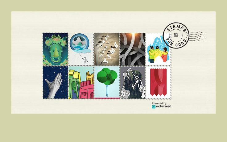 Stamps for Good Transforming Emails into Messages for Good // Stamps for Good is a way to support local charities. Buy a virtual stamp, embed it in your email and spread awareness with each click. Photo: courtesy on Stamps for Good