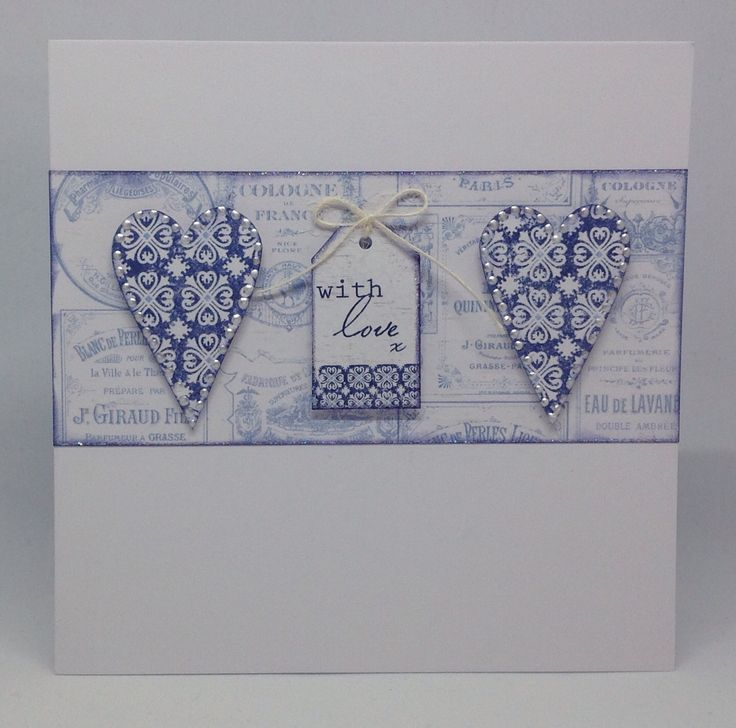 Created using Toile collection with templates and die cut flowers, design by Julie Hickey