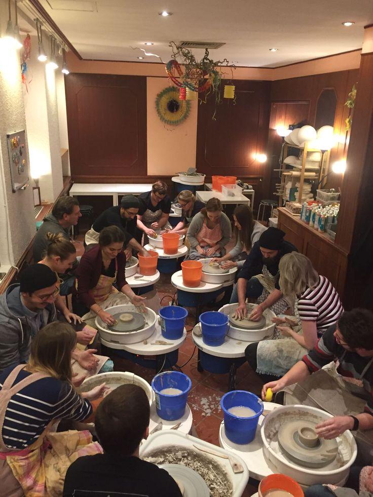 """mhoch3 teambuilding """"Pottery making"""" #teambuilding #mhoch3 #pottery"""