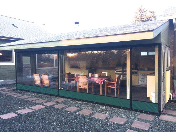 Clear Vinyl Plastic Porch & Patio Enclosures - Pricing