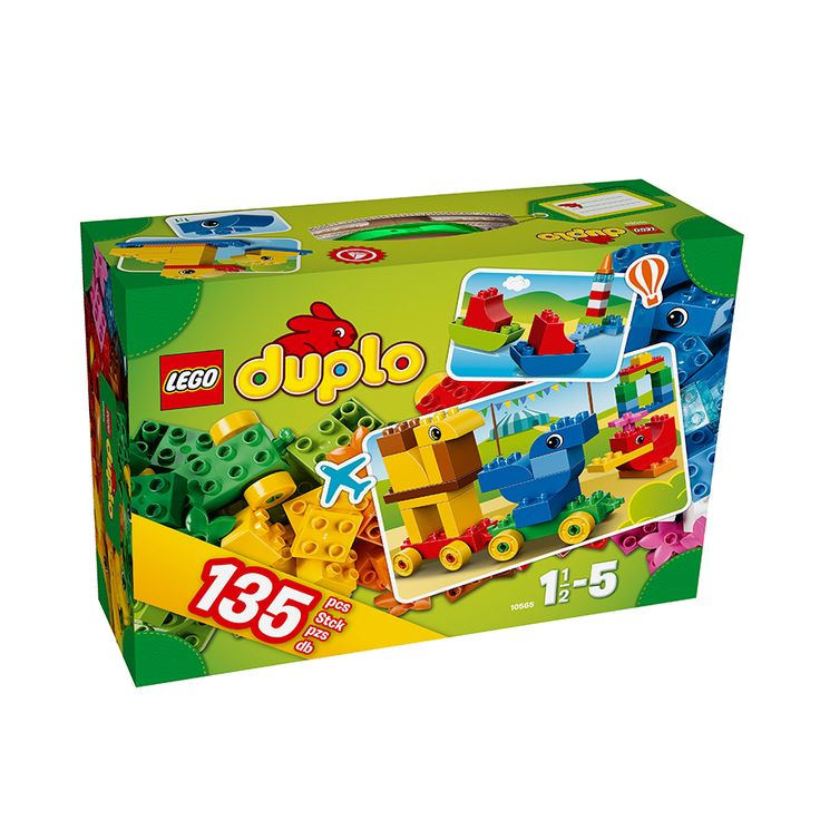 """LEGO DUPLO Creative Suitcase 10565 