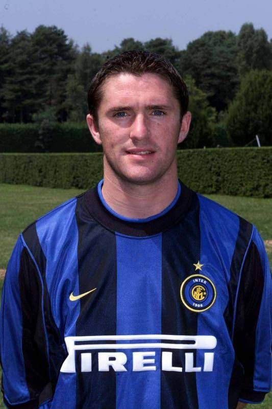 Robbie Keane of Inter Milan