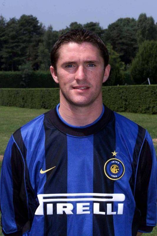 Robbie Keane of Inter Milan