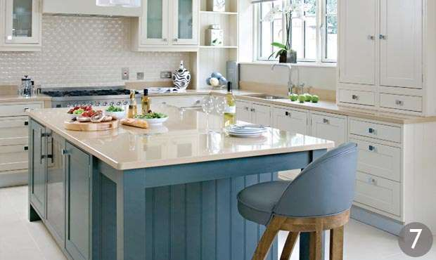 Tewkesbury blue kitchen howdens google search kitchen for Kitchen ideas howdens