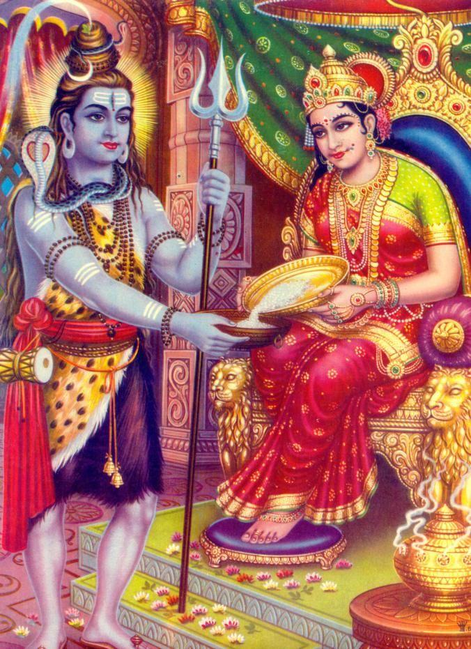 Annapurna Devi: Goddess of Food