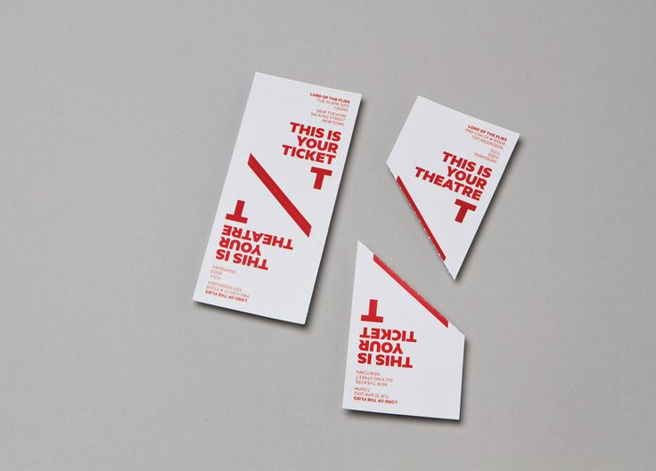 New theatre by interbrand sydney id ticket design for Experiential design sydney