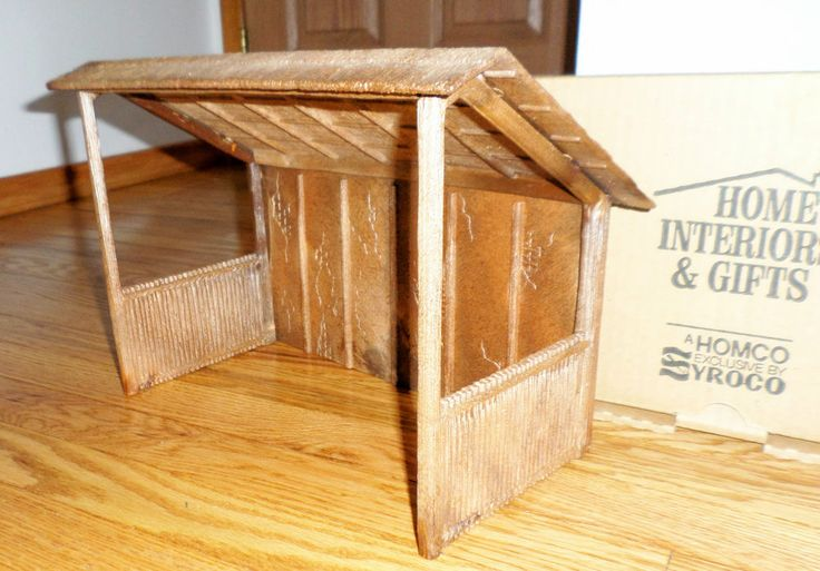Home Interior Homco Vintage Stable Nativity Stables Home And Interiors