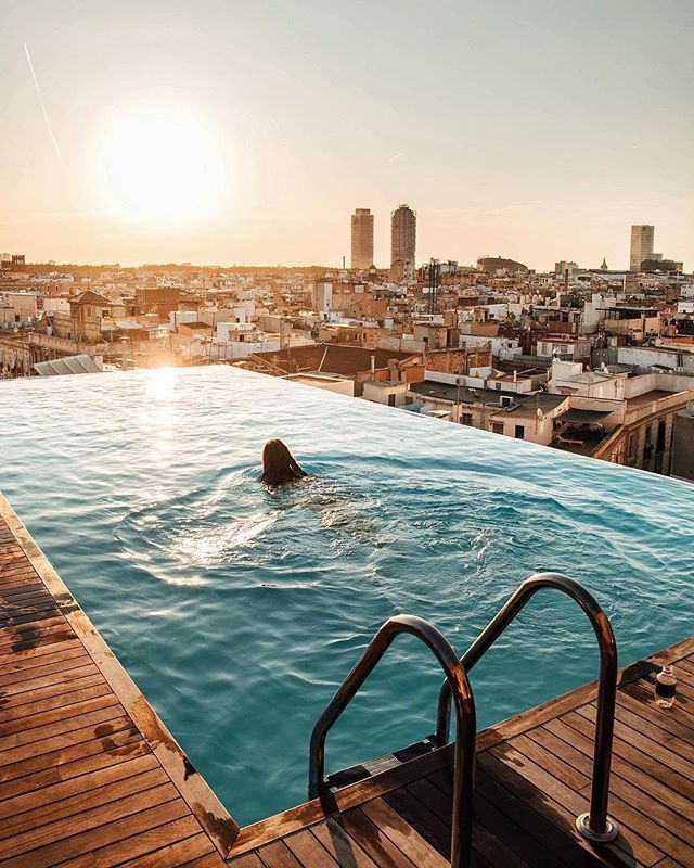 52 best swimming-pool images on Pinterest Swiming pool, Glass pool - hotel barcelone avec piscine sur le toit