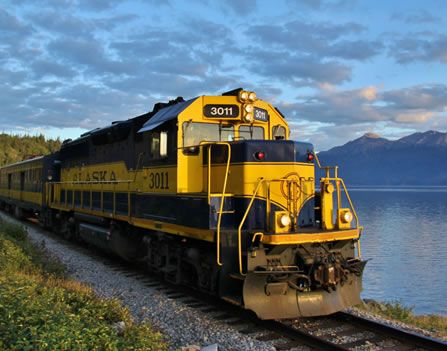 Buy a Train Ticket on the Alaska Railroad