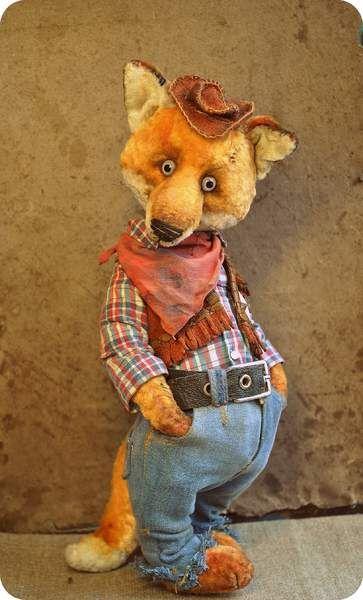 Fox Rendel By Olga Voropaeva - Bear Pile