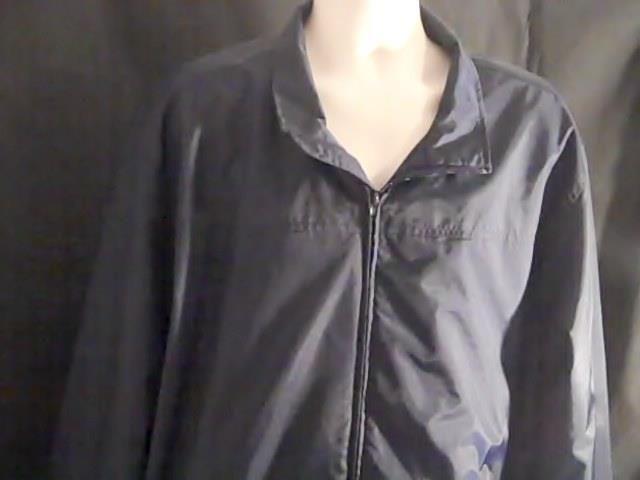 CHEROKEE BRAND Mens XL  Blue Coat Jacket Wind Breaker Polyester Nylon #CHEROKEEBRAND #Windbreaker
