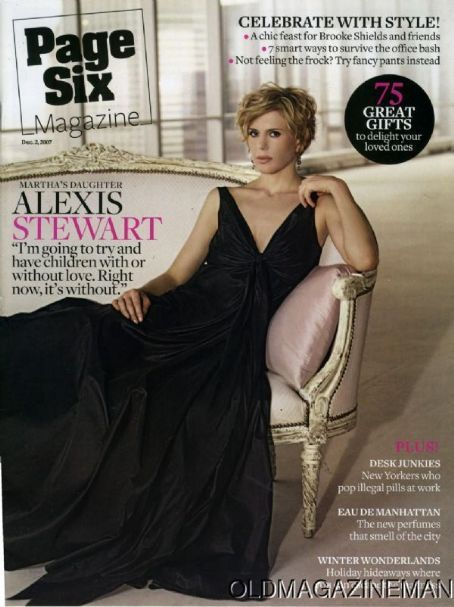 Alexis Stewart Magazine Cover Photos - List of magazine covers ...