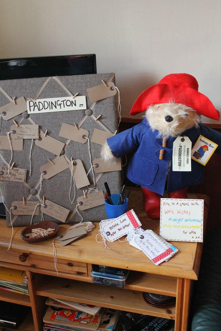 Ideas to help inspire your own Paddington baby shower! | Paddington