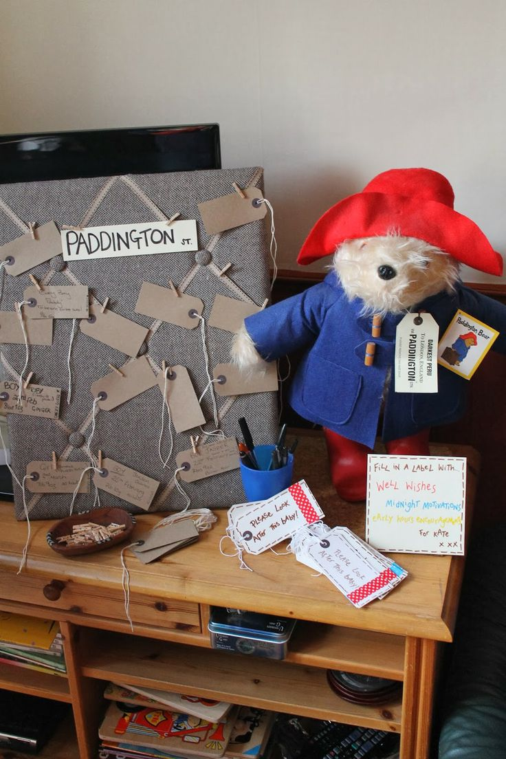 Paddington Bear Baby Shower