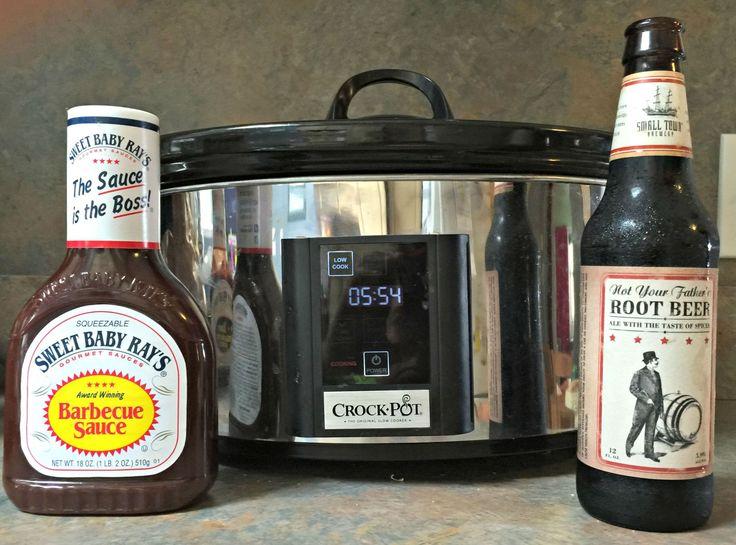 Slow Cooker Root Beer Pulled Pork