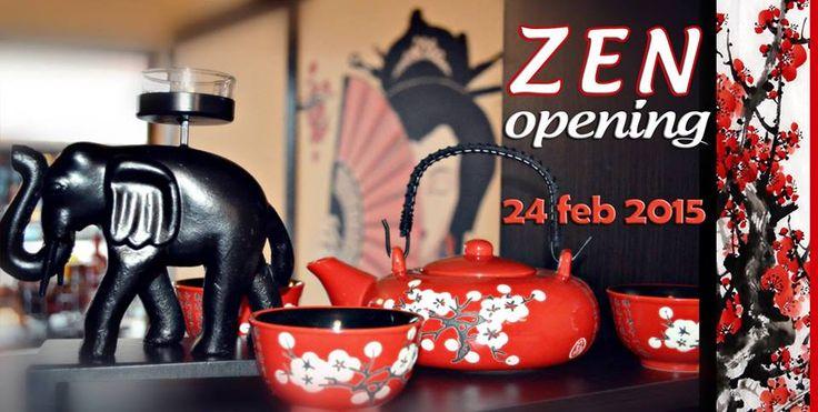 DESCHIDERE CEAINARIE ZEN – 24.02.2015, etaj 2 | Arena Mall Bacău