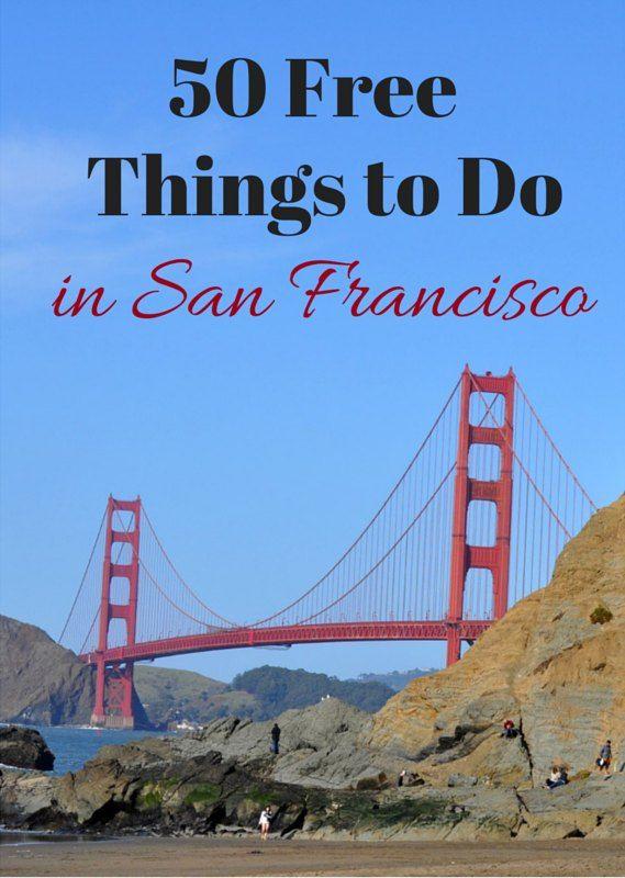 50 Free Activities & Events in San Francisco #sanfrancisco #sfbayarea #sftourismtips
