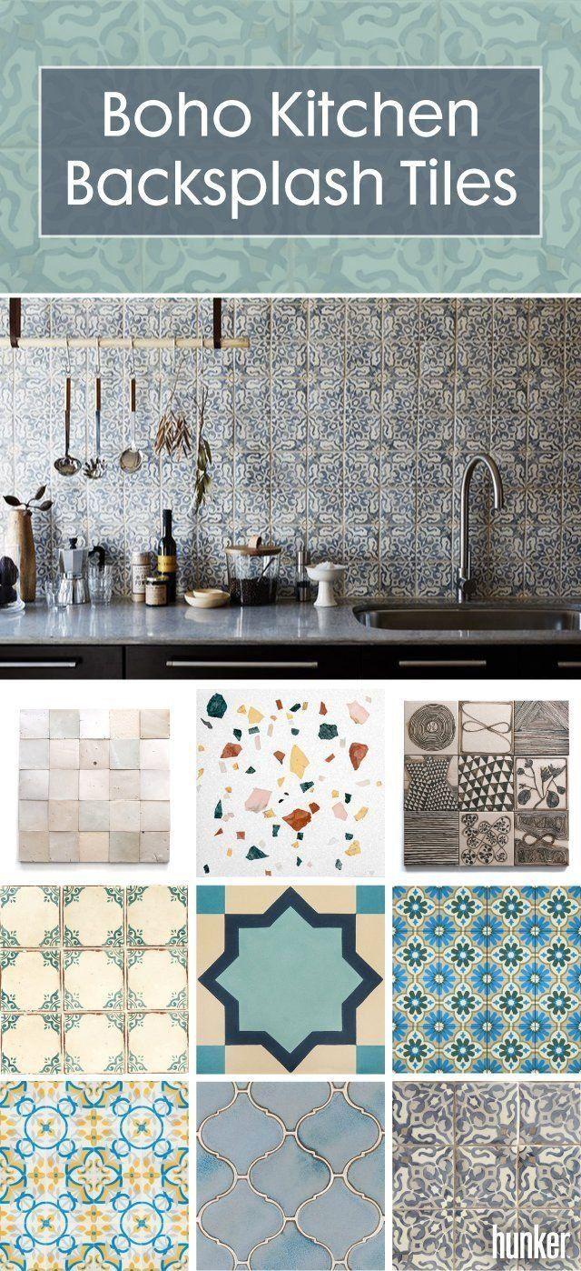 Every Boho Kitchen Backsplash Should Include These Tiles Boho Kitchen Bohemian Kitchen Kitchen Tiles Backsplash