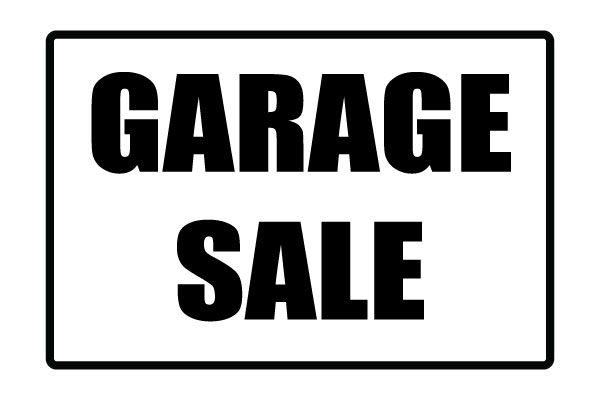 Crush image pertaining to printable garage sale sign