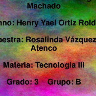 Escuela Tse. Leonardo Vargas Machado Alumno: Henry Yael Ortiz Roldan Maestra: Rosalinda Vázquez Atenco Materia: Tecnología III Grado: 3 Grupo: B   Innovac. http://slidehot.com/resources/innovacion-tecnica-para-desarrollo-sustentable.54561/