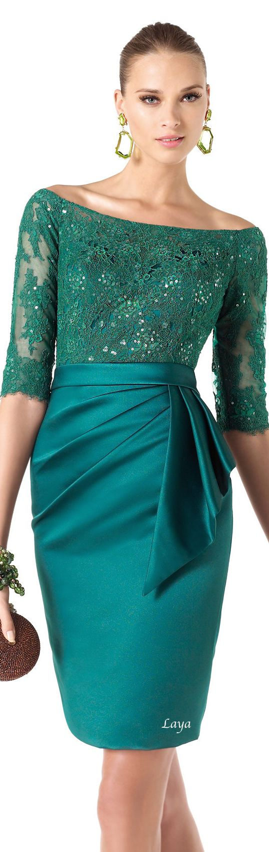 1176 best 5.1 Dresses - green images on Pinterest | Green gown ...