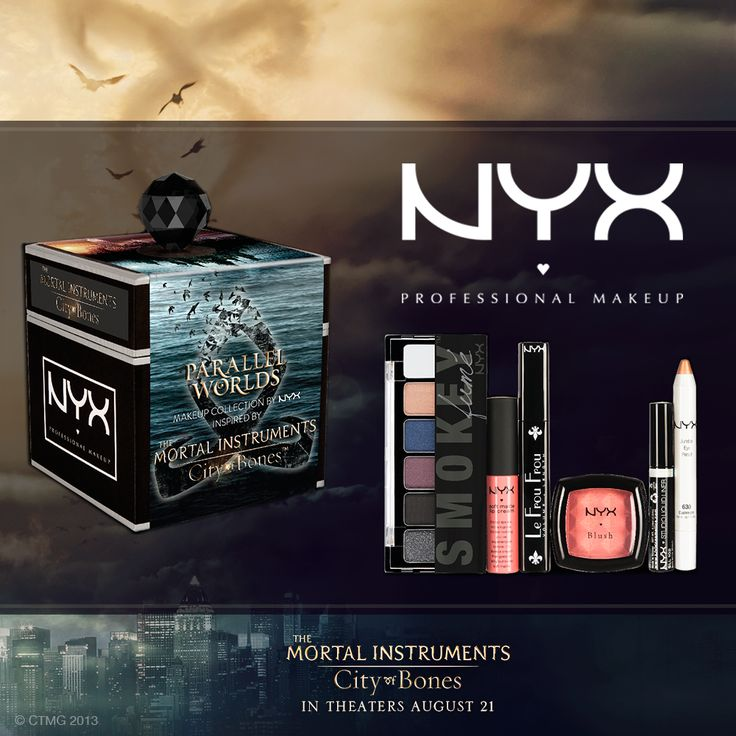 Parallel Worlds makeup collection by NYX: inspired by the movie The Mortal Instruments: City of Bones