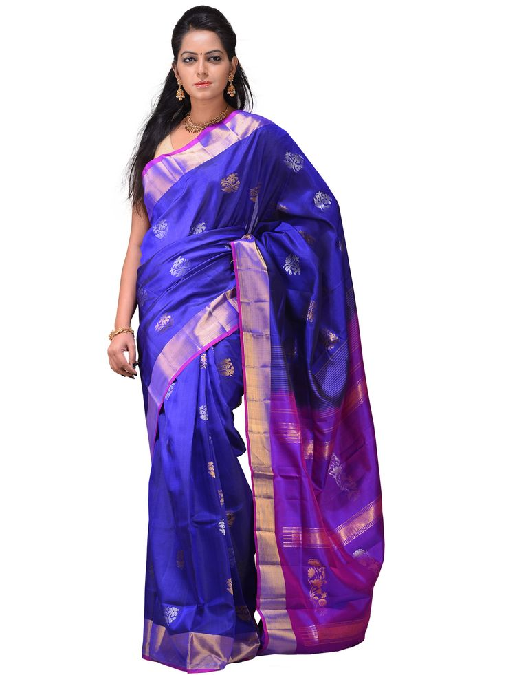 Uppada sarees are known for light silk sarees with jamdani weaving technique. With so many traditional designs it is considered for the very special occasion wear.
