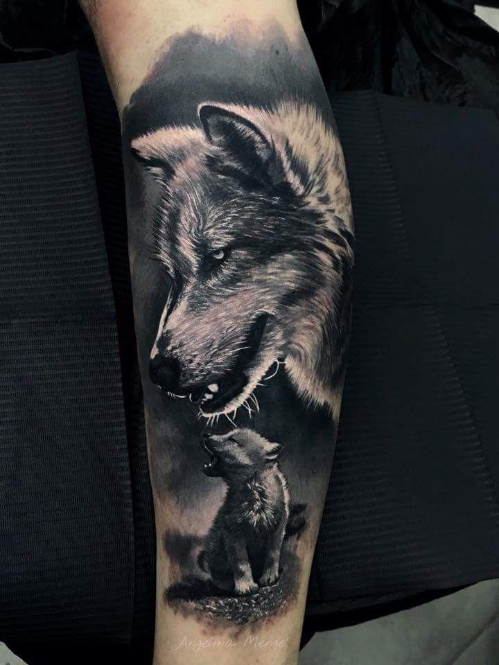Wolf Wolf Angeltattoo Cutetattoo Foodideas Hairideas Ideasen5minutos Ideasforboyfriend Ideasfo In 2020 Wolf Tattoo Sleeve Wolf Tattoos Wolf Tattoo Forearm