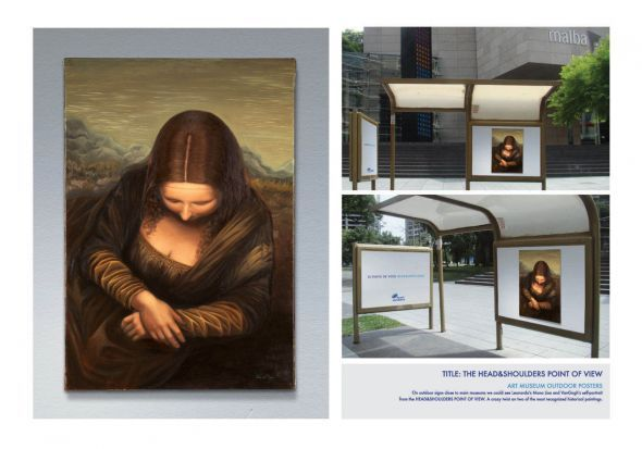 Head&Shoulders: Mona Lisa