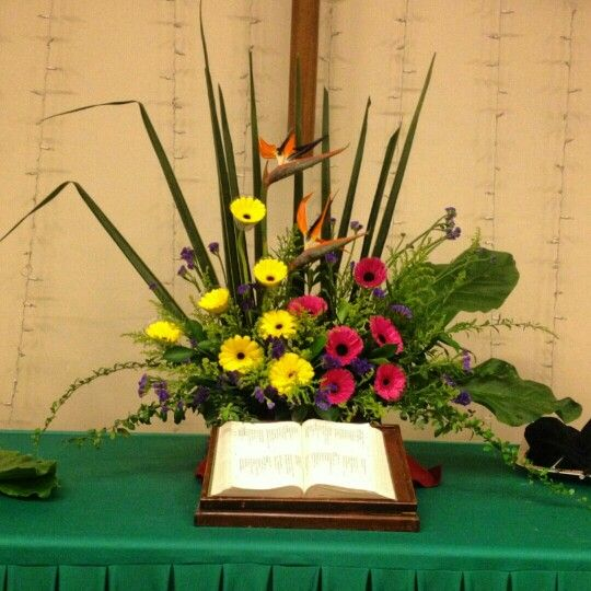 Silk Flower Arrangements Church Altar: 53 Best EMCLC☆ Church Altar Flower Arrangements Images On