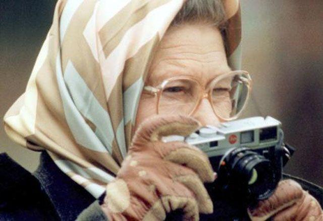 Queen Elizabeth II #celebs #behind the #camera