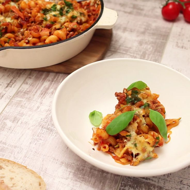 5 stars. 134 reviews. Don't forget to make this tasty Bacon and Beef Pasta Bake by kaer this week!