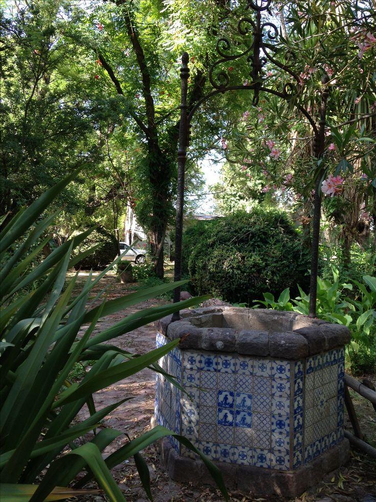 Aljibe, cubierto con azulejos   Pas de Caláis. Misia Antonita.  Maipu. Mendoza. Argentina.