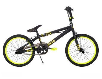 Amazon.com: Huffy BMX Revolt Bike, Matte Black, 20-Inch: Sports & Outdoors