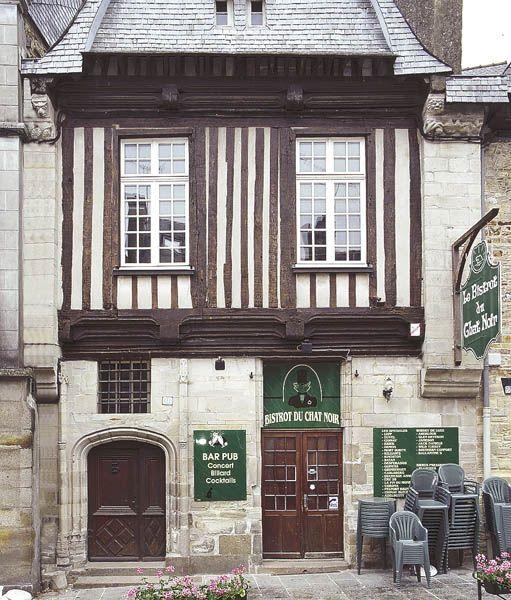 Maison de style gothique, Vitré