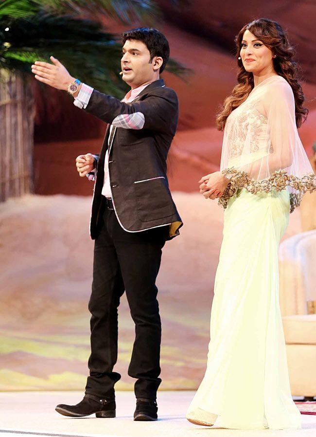 'Comedy Nights With Kapil' host Kapil Sharma with Bipasha Basu in Dubai. #Bollywood #Fashion #Style #Beauty